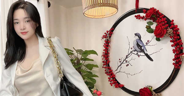 Mẹ đảm Hải Phòng chia sẻ cách làm tranh trang trí cực đẹp mà tổng chi phí chỉ 250k