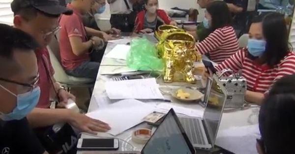 Hà Nội triệt phá 4 sàn giao dịch vàng, tiền ảo lôi kéo người chơi từ 27 quốc gia