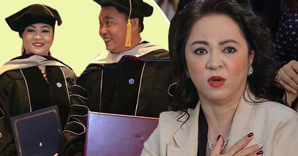 Bà Phương Hằng mới học hết lớp 11 nhưng lại khoe có bằng Giáo sư đại học, chuyện này rốt cuộc là sao?