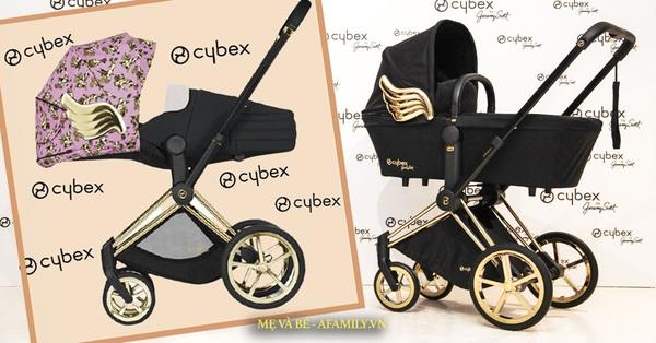 Xe đẩy Cybex cánh vàng: Siêu phẩm dành cho những em bé sướng từ trong nôi, được đích thân Giám đốc sáng tạo của Moschino thiết kế