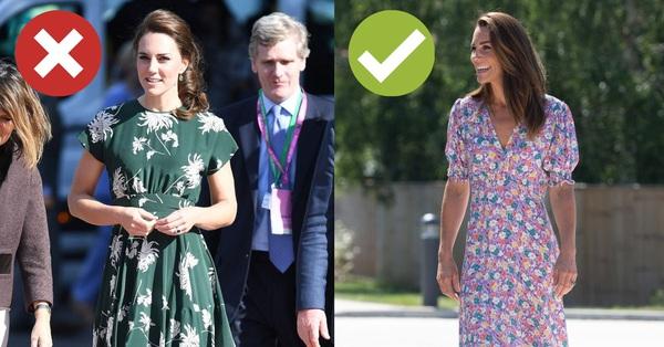 Công nương Kate cứ diện mẫu váy này là bị cộng thêm 5 tuổi, chị em xem mà rút kinh nghiệm