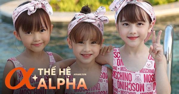 Cải Làn, Hạt Dẻ, Ớt Chuông - 3 chị em gái xinh đẹp khiến dân tình xuýt xoa không ngớt, nhìn sang nhan sắc của mẹ mới ngỡ ngàng
