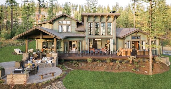 Căn nhà gỗ giữa rừng thông xanh đẹp như cổ tích khiến nhiều người đắm đuối khi ngắm nhìn