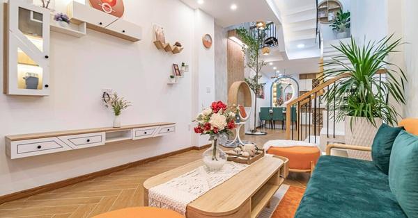 Nhà phố 53m² đầy đủ công năng với thiết kế như resort cực chill của vợ chồng trẻ ở Đà Nẵng