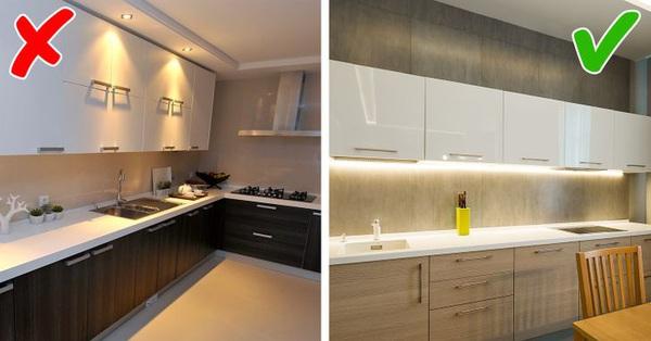 Thiết kế nhà bếp, đừng dại dột vướng 9 sai lầm này bởi không gian sẽ