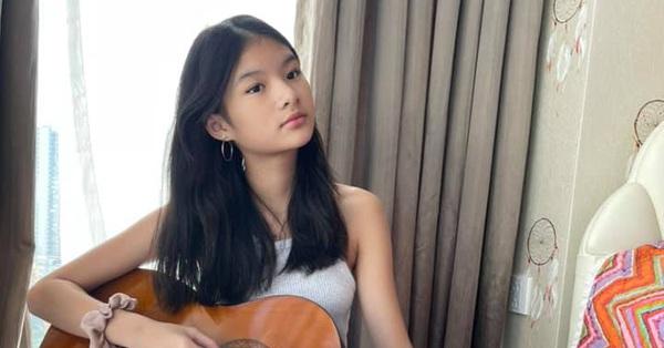Nhan sắc không son phấn của Bảo Tiên con gái Trương Ngọc Ánh được khen xinh đẹp, cá tính