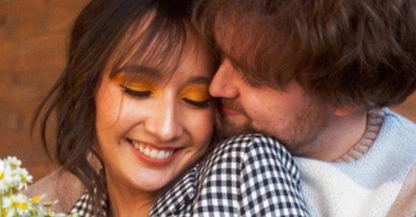 Bộ ảnh đính hôn ngọt ngào của Anna Trương - con gái riêng của chồng diva Mỹ Linh và hôn phu người Mỹ