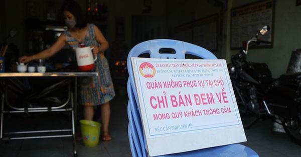 Từ trưa mai, Đà Nẵng cấm cửa hàng, quán ăn phục vụ khách tại chỗ