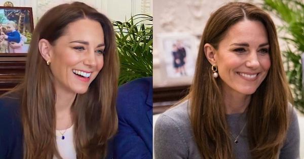 Kate Middleton đang để kiểu tóc giúp nhan sắc trẻ đẹp đỉnh cao, và đó không phải là tóc xoăn