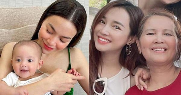 Sao Việt trong Ngày của mẹ: Kim Lý và Hồ Ngọc Hà gửi lời yêu thương tới... 4 mẹ, Nhã Phương nhắn nhủ điều này đến đấng sinh thành