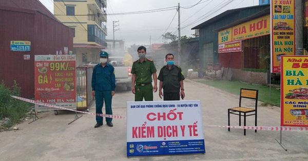 Bắc Giang phát hiện thêm 8 công nhân khu công nghiệp dương tính với SARS-CoV-2, Phú Thọ cũng ghi nhận thêm 1 ca