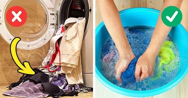 7 sai lầm quan trọng trong việc giặt là có thể làm hỏng quần áo của bạn
