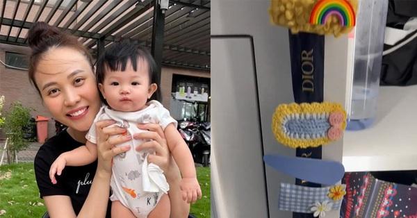 Cường Đô La khoe cận cảnh tủ đựng đồ hiệu riêng của con gái Suchin