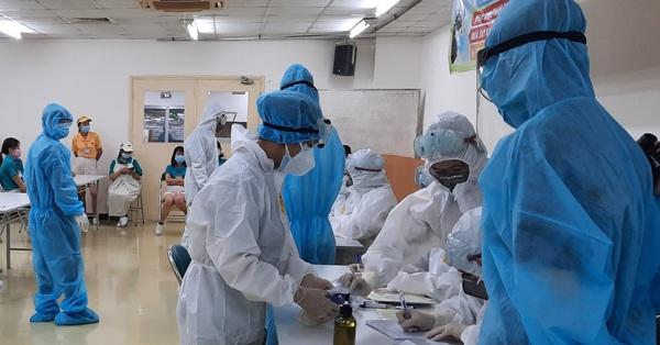 TP.HCM thông tin mới nhất về 2 công nhân dương tính SARS-CoV-2 làm việc tại KCX Tân Thuận và công ty Pouyuen