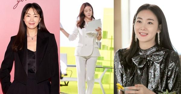 """Style của Choi Ji Woo: Chuẩn tổng tài bá đạo, từng diện một chiếc váy đẹp """"giật sạch"""" spotlight của Son Ye Jin"""