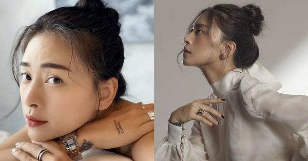 Kiểu tóc búi khiến nàng 30+ nào cũng rén, nhưng Ngô Thanh Vân 42 tuổi vẫn áp dụng