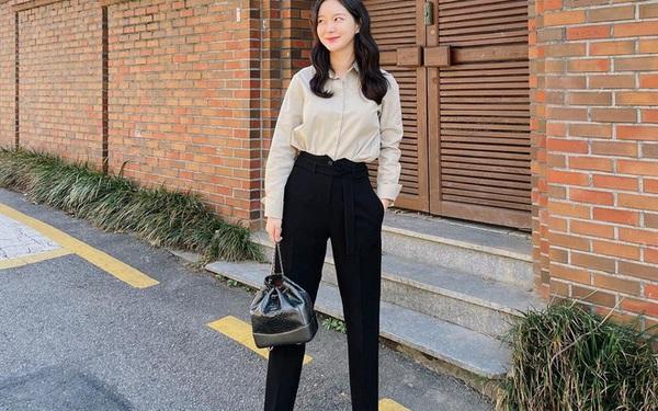 Gái Hàn có 8 cách mix đồ với quần đen, mỗi ngày diện một kiểu đảm bảo không sợ mang tiếng nhạt nhẽo!