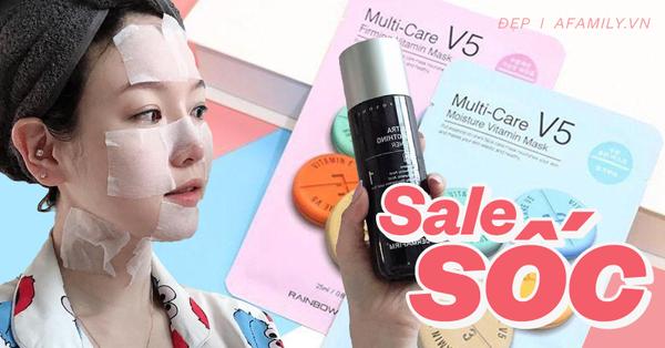 Mỹ phẩm sale 15/6: Hời nhất là mua kem mắt vì giá giảm 50%, mặt nạ loại xịn chỉ 12k