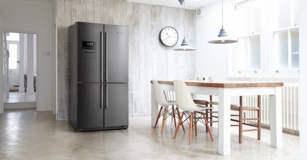 Đi 1 vòng các gian hàng điện máy thấy khá nhiều mẫu tủ lạnh 4 cánh giá rẻ, từ 15 triệu là mua được liền