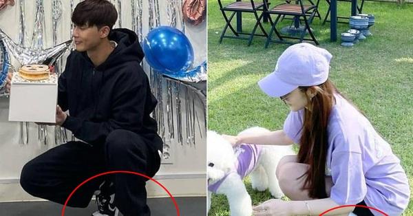 Park Min Young lại tự để lộ bằng chứng hẹn hò Park Seo Joon?
