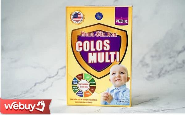 Sữa Colosmulti Pedia vừa bán ra có gì hot mà các bố mẹ bảo nhau mua về cho con uống?