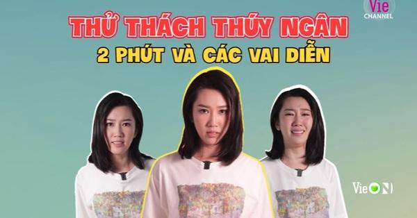 Thúy Ngân gây sốt với clip diễn 3 vai một lúc, từ Hân Hoa hậu sang Châu của