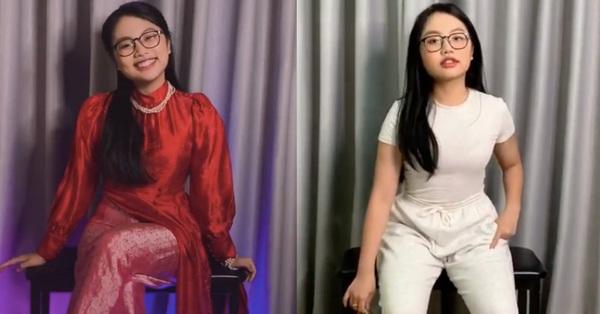 Phương Mỹ Chi bắt trend biến hình xinh đẹp, xem hết clip mới giật mình vì đoạn nhạc Phi Nhung từng hát
