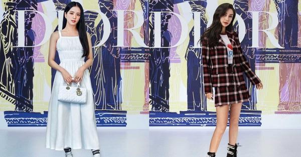 Dự show Dior, Jisoo vì đôi giày lạc quẻ mà trông