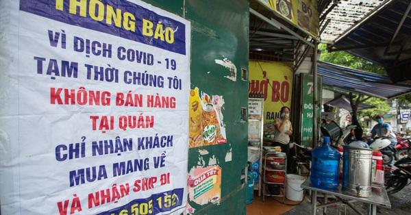 NÓNG: Hà Nội cho phép quán cắt tóc, gội đầu, hàng ăn uống trong nhà mở cửa trở lại từ 0h ngày 22/6