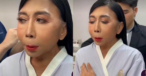 Gương mặt của người phụ nữ được xem là