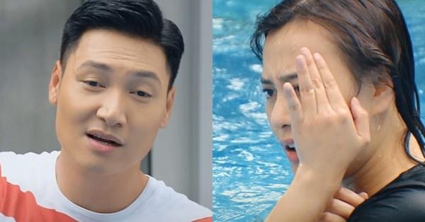 Hương vị tình thân tập 47: Long - Nam định tắm chung thì sự cố xảy ra?