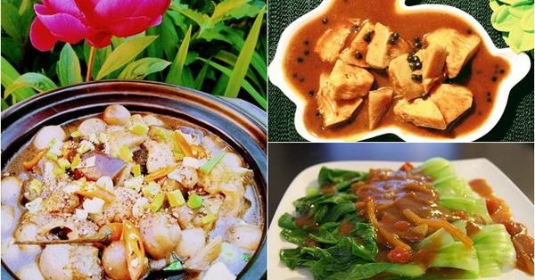 Liên Ròm gợi ý 5 món chay ngon, nấu nhanh cho bữa tối Rằm tháng 5 âm lịch
