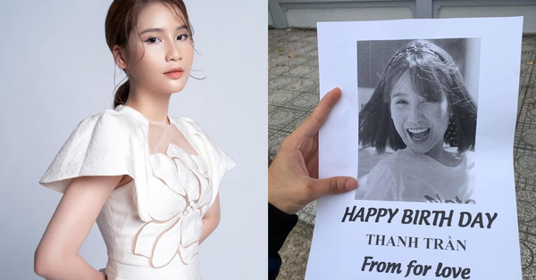 Hot mom Thanh Trần khoe được bạn thân chúc sinh nhật theo cách