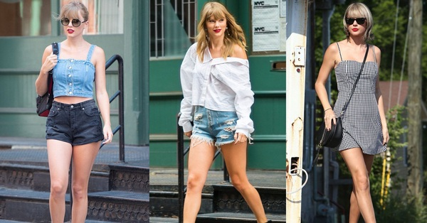 Taylor Swift xuống phố là lên đồ sang - xịn - mịn, và cùng chiêm ngưỡng loạt outfit mãn nhãn của