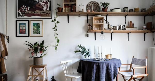 Căn hộ 23m² trong khu chung cư cũ vẫn là niềm ước ao của nhiều người nhờ cách trang trí sáng tạo