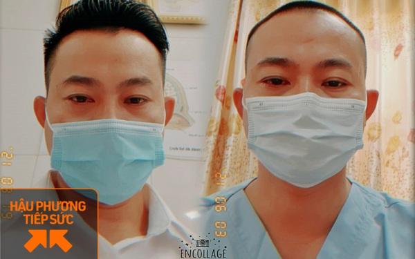 """Bác sĩ Đà Nẵng """"xuống tóc"""" lên đường chi viện Bắc Giang chống dịch: """"Soi gương thấy cũng đẹp trai, còn được vợ khen ngầu!"""""""