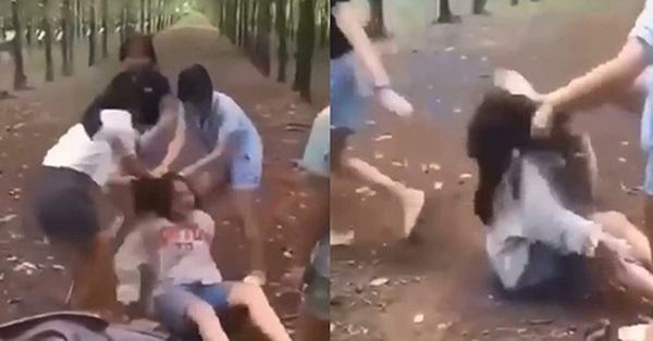 Nữ sinh THCS ở Đồng Nai bị nhóm bạn học đánh hội đồng dã man trong vườn cao su