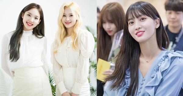 TWICE hay diện 5 kiểu áo blouse rất xinh tươi và sang chảnh này, các nàng học theo thì yên tâm luôn trẻ xinh và thời thượng