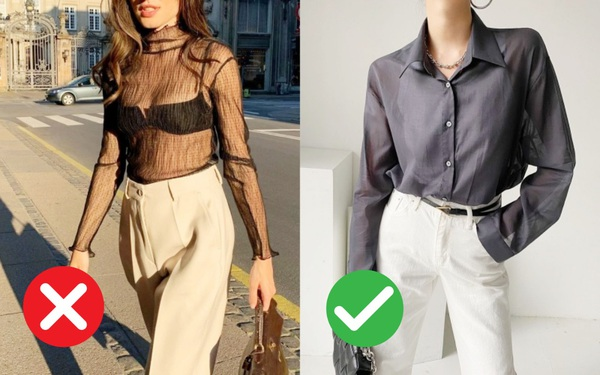 Dù đẹp đến mấy cũng xin các chị em đừng mặc kiểu áo này tới sở làm!