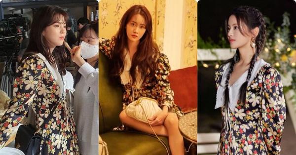 Kỷ lục đụng hàng: Một mẫu váy hoa có tới 6 nàng đẹp diện, Yoona bất ngờ