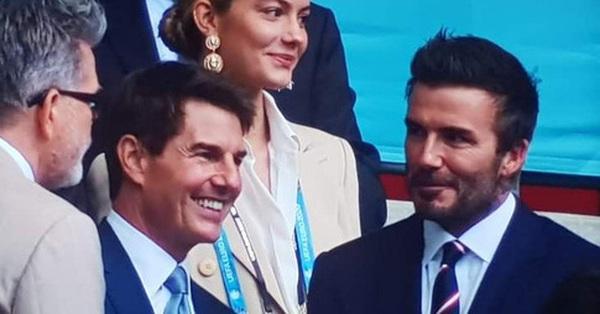 Tổ hợp nhan sắc thần kỳ David Beckham - Tom Cruise gây bão khi