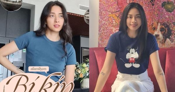 Ngô Thanh Vân rất chăm diện áo thun, nhưng có kiểu nàng 30+ không nên copy vì dễ thành