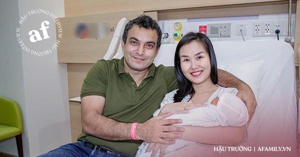 Phỏng vấn Võ Hạ Trâm sau 3 ngày sinh con gái: