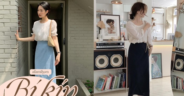 Chân váy công sở có 5 mẫu đang rất hot, chị em nên sắm bằng hết vì kiểu nào cũng đẹp