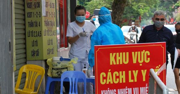 KHẨN: Hà Nội tìm người đến nhà thuốc trên phố Láng Hạ