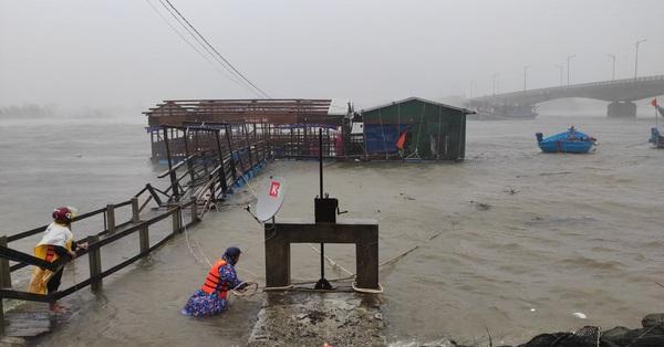 Bão số 3 suy yếu thành áp thấp nhiệt đới đi vào vịnh Bắc Bộ gây mưa to đến rất to trên toàn miền