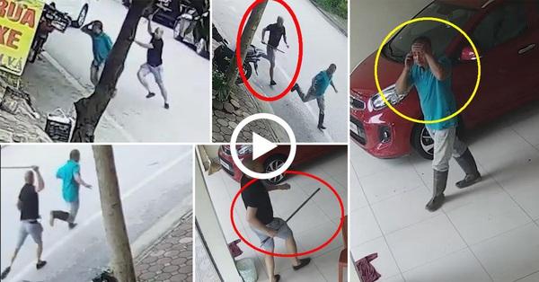 Tài xế Mazda chặn xe máy, cầm gậy sắt vụt vỡ đầu người đàn ông vì túi đồ đánh rơi