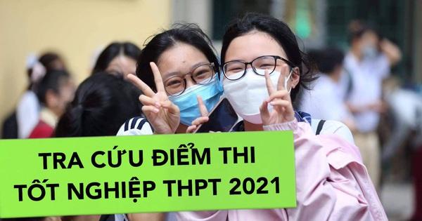 TRA CỨU điểm thi tốt nghiệp THPT 2021: 0h đêm nay công bố, học sinh cả nước xem tại đây