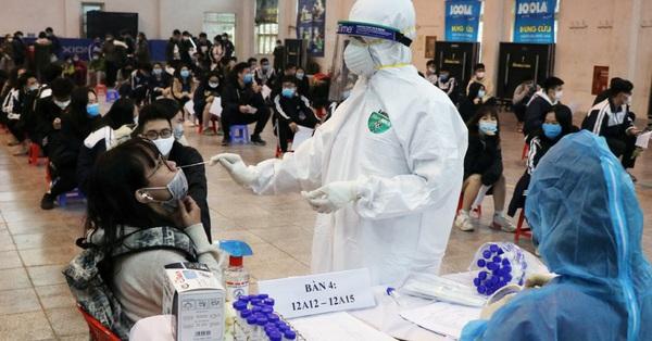 Hà Nội tiếp tục ghi nhận 24 ca dương tính SARS-CoV-2 tại 7 quận, huyện