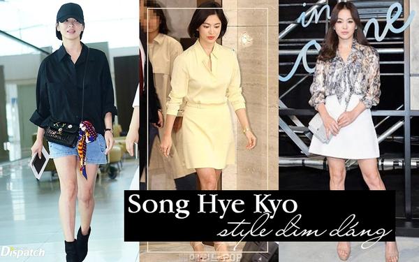Khổ thân Song Hye Kyo: Có 2 kiểu trang phục tưởng tôn dáng mà hóa ra dìm body thảm hại, khiến người lùn 1 mẩu